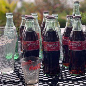 1990's Coca Cola Bottle Collection